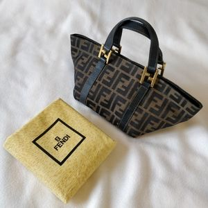 Vintage Fendi Zucca mini Tote bag